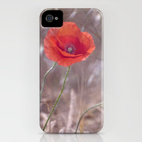 last poppy iPhone Case by Guido Montañés | Society6