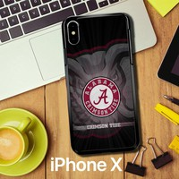 Alabama Crimson Tide G0099 iPhone X Case
