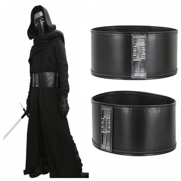 1pcs Star Wars Kylo Ren Waistband Costume Accessories Mens Belt PU Adjustable Jedi Killer Cosplay Belts Props