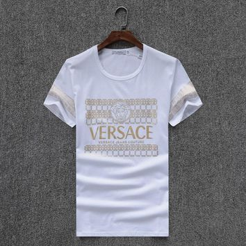 Versace Fashion Casual Shirt Top Tee-28