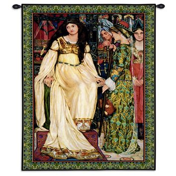 USA Woven Tapestry Wall Hanging The Keepsake Small
