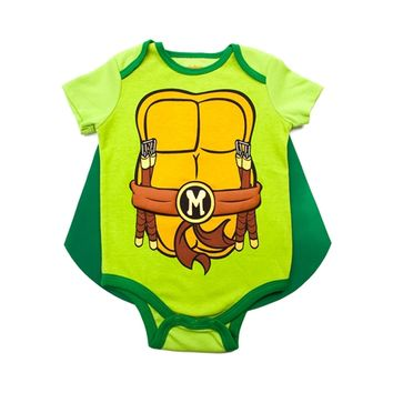 Infant Teenage Mutant Ninja Turtle Caped Sleeper
