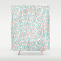 Cool Colorful Ocean Waves Shower Curtain by Smyrna