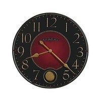 Howard Miller Harmon Large Pendulum Wall Clock - 26 1/4 Inch Diameter