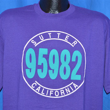 90s Sutter California 95982 Beverly Hills 90210 Spoof t-shirt Extra-Large