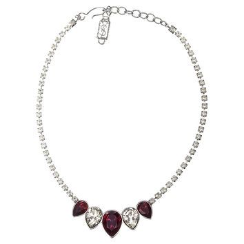 Yves Saint Laurent Faux-Ruby Necklace