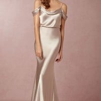 Sabine Dress by Anthropologie in Silver Size: