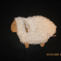 white sheep heating pad.microwaveable rice sheep,heat pack, bed warmer,muscle pain, therapy