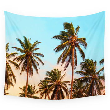 Society6 Palms Trees. Wall Tapestry