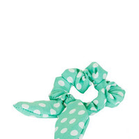Bunny Ear Scrunchie - Hair Accessories  - Bags & Accessories