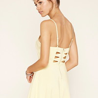 Cutout Fit and Flare Cami Dress   Forever 21 - 2000177440