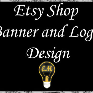 Etsy Shop Banner and Logo Design - Professional Marketing Services