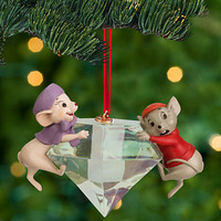 Disney Bernard and Miss Bianca Sketchbook Ornament - The Rescuers | Disney Store