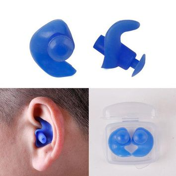VONW6S Waterproof Swimming Earplugs Professional Silicone Swim Earplugs Adult Swimmers Children Diving Soft
