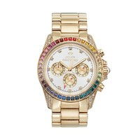 Juicy Couture Stella Bling Gold Tone Stainless Steel Women's Watch