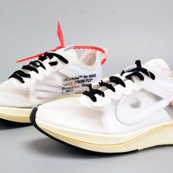 DCCKL8A Jacklish Virgil Abloh Off-white X Nike Zoom Vaporfly Fly Sp The Ten For Sale