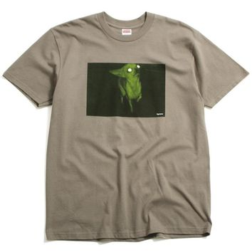 Chris Cunningham Chihuahua T-Shirt Taupe (Large)