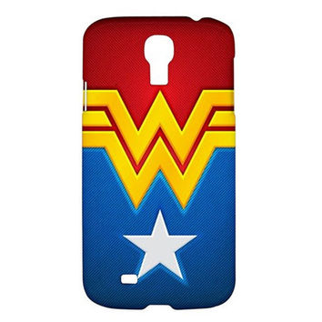 NEW Red Hot Wonder Woman Samsung Galaxy S4 I9500 Hardshell Case Cover