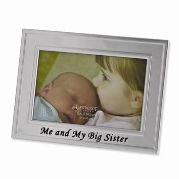 Big Sister 6x4 Photo Frame - Engravable Personalized Gift Item