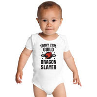 Fairy Tail Baby Onesuits
