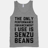 The Only Performance Enhancement I use Is Senzu Beans