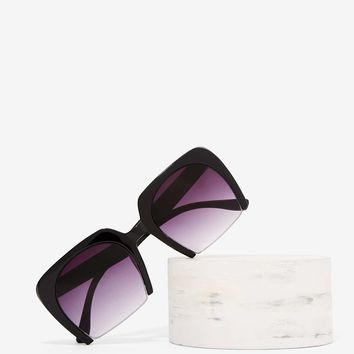 Cut Off Duty Rectangle Shades