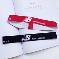 New Balance Sports Casual Letter Simple Hair Band Of Yoga And Fitness Headband Headband With Headbands