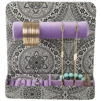 Sheffield Home Jewelry Stand for Necklaces, Bracelets & Earrings (Purple)