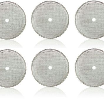 French Press Filters, Replacement Universal Coffee, Espresso and Tea Maker Screens (20 Oz Filter Mesh 6 Pack)