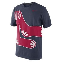Nike Store. Nike CP Balt (MLB Red Sox) Men's Baseball T-Shirt