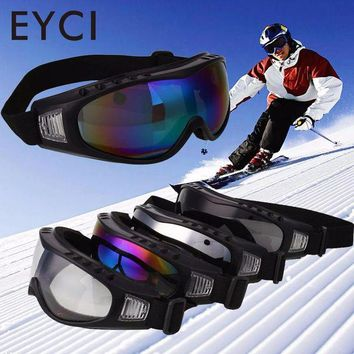 DCCK7N3 EYCI Outdoor Motorcycle Cycling Wind Airsoft Goggles Protection Bike Sking Road Racing Anti Sand Sports Ski Glasses Safety