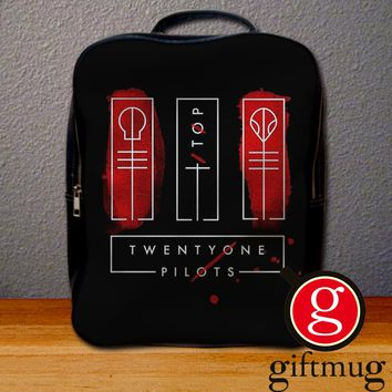 Twenty One Pilots Album Cover Backpack for Student