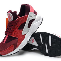 NH11 - Nike Air Huarache (Maroon/Black/White)