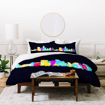 Robert Farkas Colour City Duvet Cover