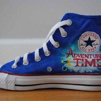 Adventure Time Converse Hi-Tops