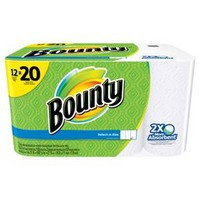 Bounty Select-A-Size White Paper Towels 12 Mega Rolls