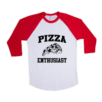 Pizza Enthusiast SGAL1-2 Baseball Longsleeve Tee