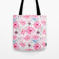 garden Tote Bag by sylviacookphotography