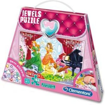 Princess Play and Dance - 104 Piece Jigsaw Puzzle