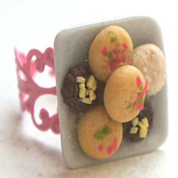 Shortbread Cookies Ring