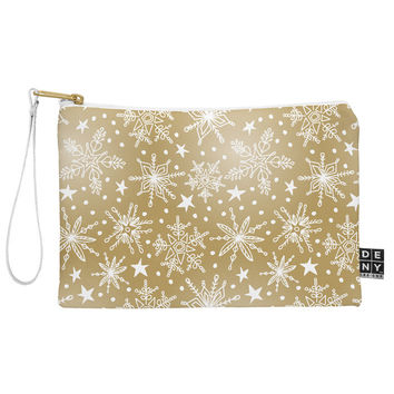 Heather Dutton Snow Squall Guilded Pouch