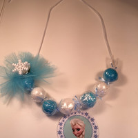 Frozen theme candy necklaces