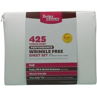 Better Homes and Gardens 425-Thread Count Performance Bedding Sheet Set - Walmart.com