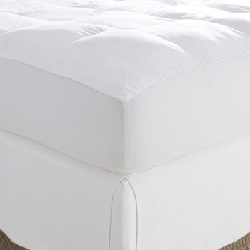 LUXURY MEMORY FIBER MATTRESS PAD
