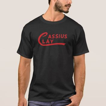 Cassius Clay Red T-Shirt
