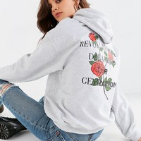 Revolutionary Youth Hoodie Sweatshirt | Urban Outfitters