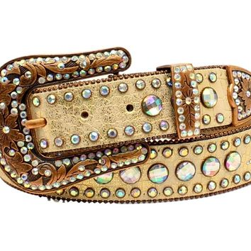 Nocona Women's Big Round Conchos Belt