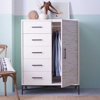 Wood Tiled Chifforobe