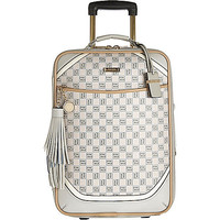 Beige monogram wheelie suitcase - make up bags / luggage - bags / purses - women