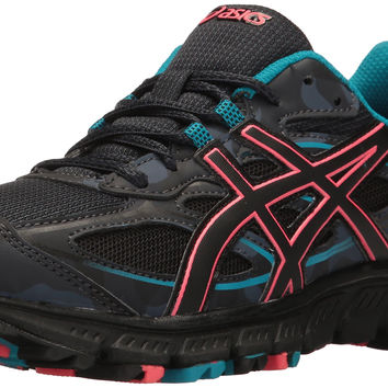 ASICS Women's Gel-Scram 3 Trail Runner Anthracite/Black/Columbia Sea 6.5 B(M) US '